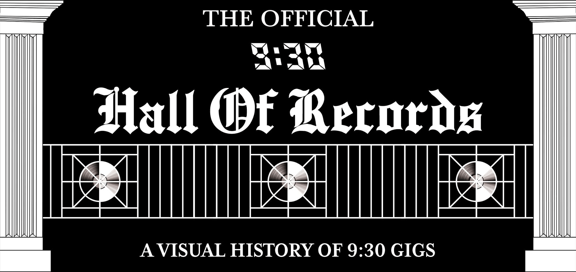 The Official 9:30 Club Hall of Records - A Visual History of 9:30 Gigs